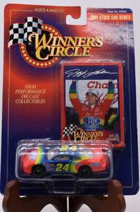 Sealed NASCAR Stock Car 1996 Racing Champion #24 JEFF GORDAN 1:64 Card & Display