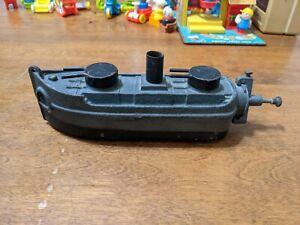 Vintage Big Bang Gunboat Navy Ship Boat Cannon Toy