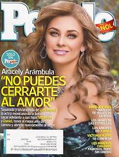 ARACELY ARAMBULA People En Espanol Magazine Marzo 2011 March  C-3-3