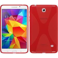 Funda de silicona Samsung Galaxy Tab 4 7.0 X-Style rojo