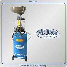 Twin Busch ® Oil drain tank - collection container and exhauster - TW 2097