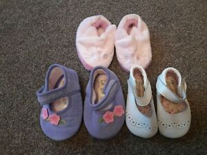Baby Girl Pram Shoes & Slipper inc Mothercare