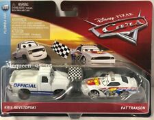 Disney Cars Cars 3 Florida 500 Kris Revstopski & Pat Traxson Diecast 2-Pack