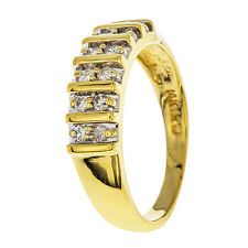 0.25ct Diamond 14k Yellow Gold Arrow Ring Size 7