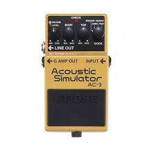 Boss AC-3 Acoustic Simulator Guitar Effects Pedal - New