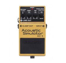 Boss AC-3 Acoustic Simulator Guitar Effects Pedal - New
