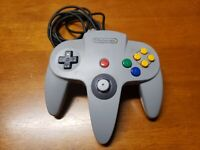 N64 Controller Official OEM Nintendo 64 Authentic NUS-005 TESTED Good Stick