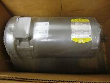 Baldor 1 HP, DC, 1750 RPM, TEFC, 230 V, FR 56, Industrial Motor - D2304 - NIB!
