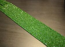 edelsteine24  Chrom Diopsid Strang microfac. 2mm!! 40cm Länge nur €32,50 Chr-b1