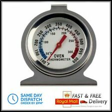 Stainless Steel Oven Cooker Thermometer Temperature Dial Gauge 300ºC 600ºF