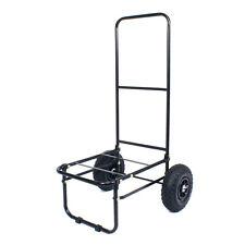 Koala Products® Large Fold Flat Seat Box Fishing Trolley Clip Off Wheels