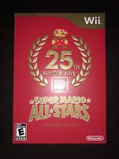 Nintendo Wii 25th Anniversary Super Mario All Stars Limited Ed Brand New Sealed