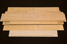 Large 1/5 Scale PIPER PA-22 TRI-PACER Laser Cut Short Kit,  Plans & Inst 70in.WS