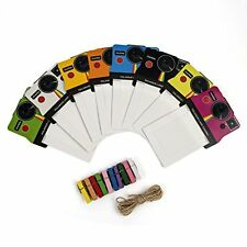 Polaroid Colorful OneStep Vintage Photo Frames for 2x3 ZINK Paper (Snap, Zip, Z2