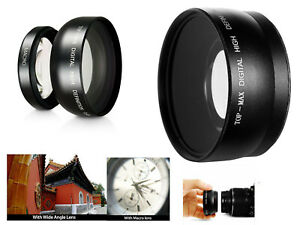 MACRO Close Up & WIDE Angle Lens for SONY A6400 A6300 A6100 A6000 16-50mm lens