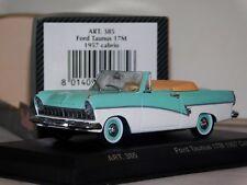 FORD TAUNUS 17M CABRIO 1957 DETAIL CARS ART 385 1/43