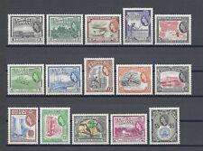 BRITISH GUIANA 1954-63 SG 331/45 MNH Cat £110
