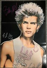 Billy Idol Poster JSA Signed Autograph Record Album Don't Stop Poster