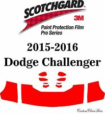3M Scotchgard Paint Protection Film Pro Series Clear 2015 2016 Dodge Challenger