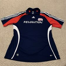 New England Revolution Adidas ClimaCool MLS Major League Soccer Jersey Mens XL