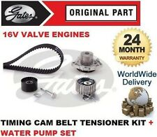 FOR FIAT DOBLO + VAN 2.0 JTD 2010-> TIMING BELT TENSIONER SET + WATER PUMP KIT