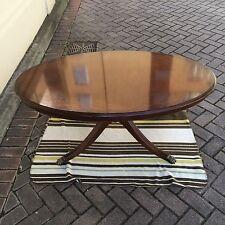 Mahogany Oval Coffee Tables