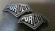 "Purdue University Conchos Lot of 2 with Screws 1 3/4"" Width"