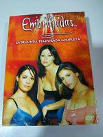 EMBRUJADAS CHARMED Segunda Temporada Completa - 6 X DVD Español Ingles