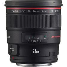 Canon EF 24mm f/1.4L II USM Lens w/ Canon USA Warranty