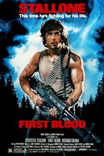 RAMBO FIRST BLOOD - CLASSIC MOVIE POSTER 24 x 36