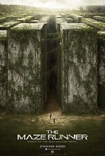 The Maze Runner 2014 Movie Poster (24x36) - Dylan O'Brien, Kaya Scodelario NEW