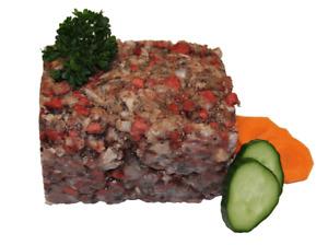 BARF Hausmischung Fisch / Rind 5 kg TK