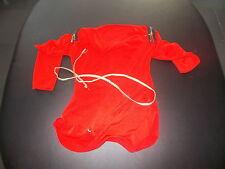 (54) Blouse rouge C&A Taille 116 (avec ceinture décorative)