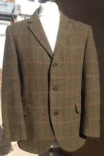 "DAKS Rare Vintage 1930s Simpson Tailored Herringbone Tweed Jacket 38"" Goodwood"