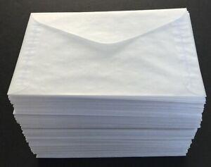"500 New #5 Glassine Envelopes 3 1/2"" x 6"" Westvaco"