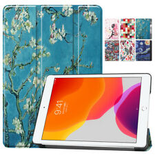 """Painted Pattern Wake/Sleep Flip Stand Cover Case For Apple iPad 7th Gen 10.2"""""""
