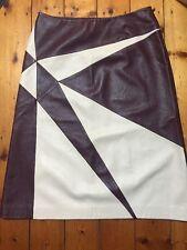 Incredible Versace Leather Skirt NWOT Vintage 1990s Super Soft