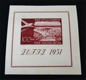 nystamps Yugoslavia Stamp # C43 Mint OG NH $175 F19y2896