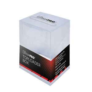 Ultra PRO Toploader Storage Box | Trading Card Box | Holds 20-30 TCG Toploaders