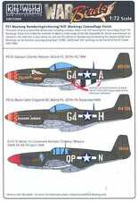 Kits World Decals 1/72 P-51 LETTERS NUMBERS KILL MARKINGS Camouflage Finish