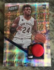 2016-17 Panini Day Buddy Hield 1/1 Hat Patch Button  Rookie Rc