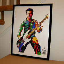 Mike Dirnt, Green Day, Bass Guitar, Punk Rock, Bassist, Musician, 18x24 POSTER