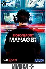 Motorsport Manager - PC Spiel Code - Steam Digital Download Key NEU [DE/EU]