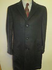 Genuine Ralph Lauren Charcoal Trenchcoat Raincoat Coat Size M 38 R Euro 48 R