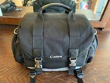 OEM Canon Black/Silver Professional Organizer Camera & Lens Shoulder Carry Bag
