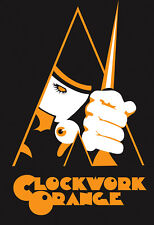 Vintage Clockwork Orange Movie Poster A4 print