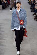 Louis Vuitton x Supreme Denim Trucker Barn Denim Jacket Size 48 / Medium