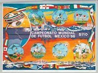 Fussball Mexiko 86 postfrisch  984