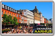 AARHUS DENMARK FRIDGE MAGNET SOUVENIR IMAN NEVERA