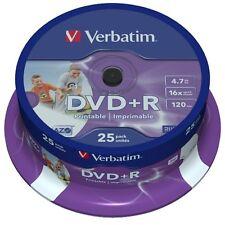 100 DVD +R Verbatim AZO 16x vergini stampabili PRINT